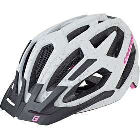 Cratoni C-Flash Kask MTB, grey/pink matte